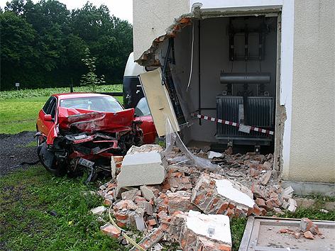 Unfall in Bischofegg