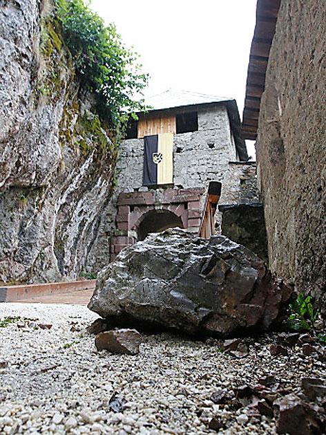 Felssturz Burg Hochosterwitz