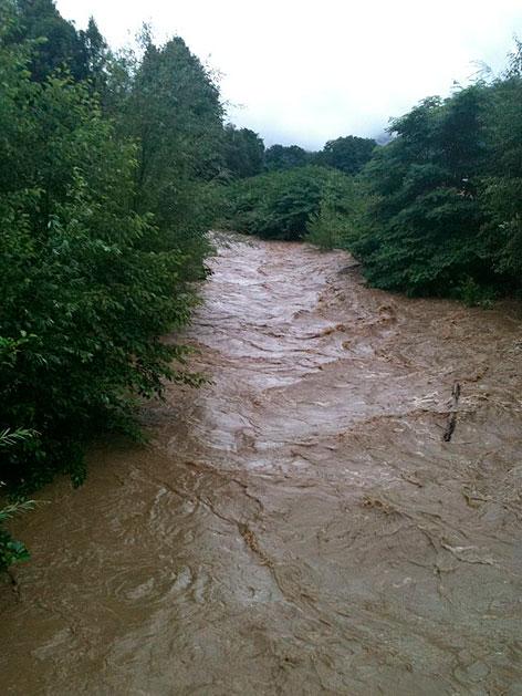 Hochwasser Treffnerbach Villach