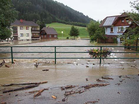 Niederwölz Hochwasser