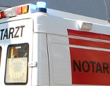 Notarztfahrzeug des Roten Kreuz