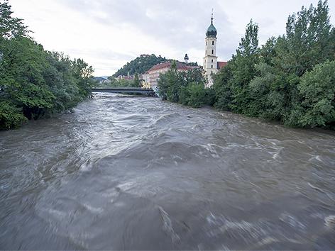 Hochwasserführende Mur
