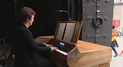 Orgel im Toscanini-Hof Festspiele
