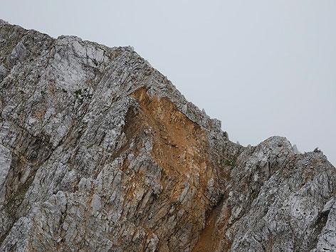 Vertatscha nach Felssturz