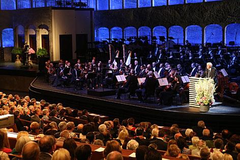 Festakt zur Eröffnung der Salzburger Festspiele 2012
