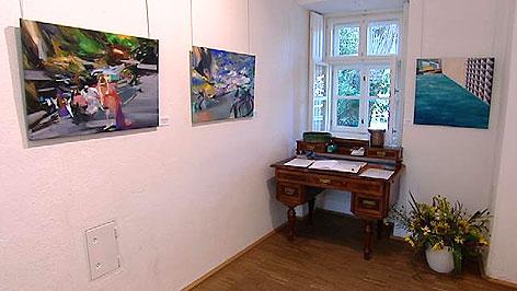 Werke bei den Rabnitztaler Malerwochen