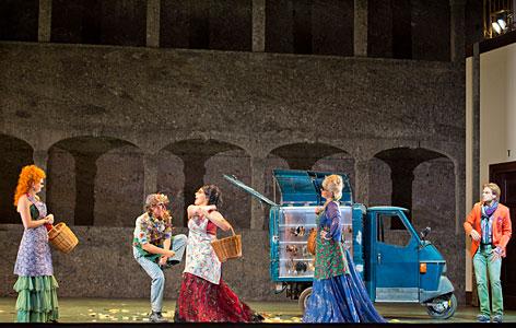 Szene aus Zauberflöte Festspiele