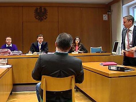 Prozess Innerkrems Gerichtssaal
