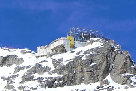 Österreichs Höchste Seilbahn Cafe Pitztal Wildspitz