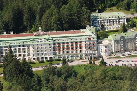 Hotel Panhans, Luftaufnahme
