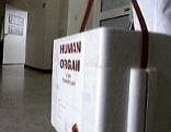 Transportbox für Spenderorgan vor Transplantation