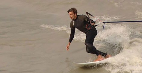 Surfen am Seil