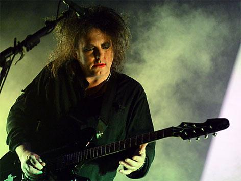 Robert Smith von der Band The Cure am FM4 Frequency 2012