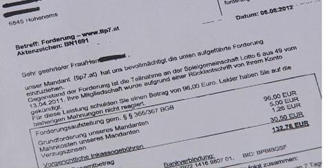 Inkasso Abzocke Vermehrt Briefe Im Umlauf Vorarlbergorfat