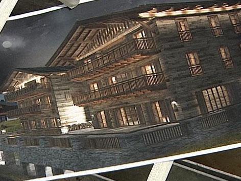 Hotelneubau Lech
