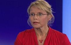 "Justizministerin Beatrix Karl (ÖVP) in der ZiB 2"""