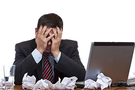 Stress Büro