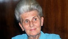 Marga Frank, im August 1990