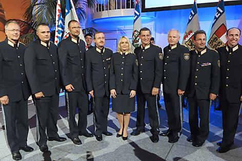Neue Landespolizeidirektoren