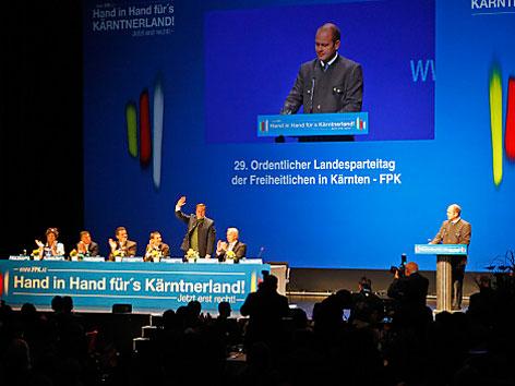 Rede Kurt Scheuch FPK Parteitag Villach