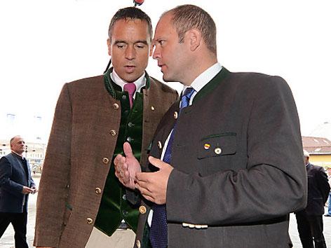 Kurt und Uwe Scheuch FPK Parteitag Villach