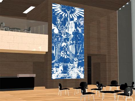 Dorfer Kunst am Bau Musiktheater Linz