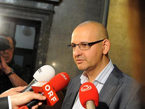 Jürgen Stephan Mertens, Anwalt von Helmut Elsner, beim zweiten BAWAG-Prozess