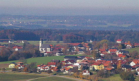 Dorfbeuern Dorf Flachgau