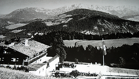 Obersalzberg Altes Foto Hitler Berghof