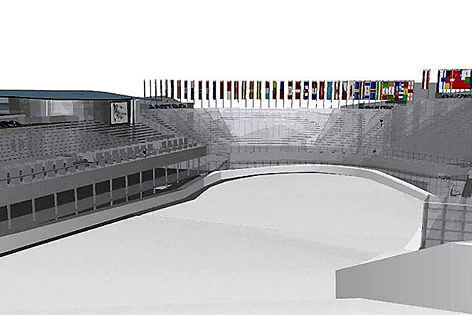 Das geplante Zielstadion