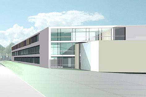Visualisierungen der neuen Justizanstalt in Puch-Urstein