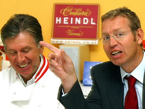 Walter (l.) und Andreas Heindl