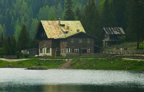 Ehemaliges Gasthaus am Obernberger See