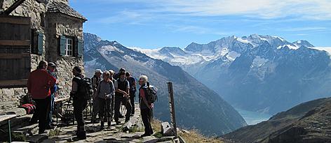 Friesenberghaus Hubert Fritzenwallner Zillertaler Alpen Bergsteigen Tourismus Alpinismus Alpenverein Schlegeis