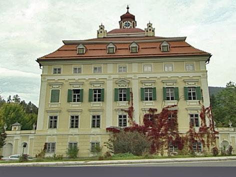 Schloss Pöckstein Fassade Außen