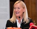 Johanna Rachinger, Generaldirektorin der Österreichischen Nationalbibliothek, bei einer Pressekonferenz