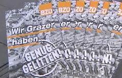 BZÖ-Wahlkampf in Graz
