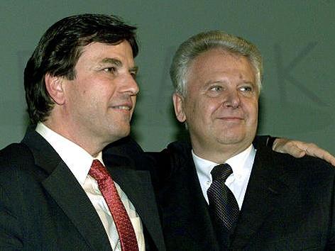 Franz Voves und Peter Schachner-Blazizek
