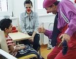 Clown Doctors im KH Eisenstadt
