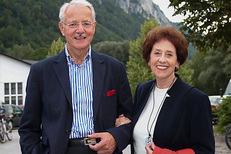 Karlheinz und Agnes Essl