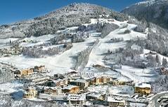 Hotels und Skilift in St. Johann-Alpendorf (Pongau)