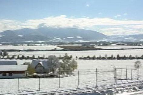 Judenburg mit Schnee