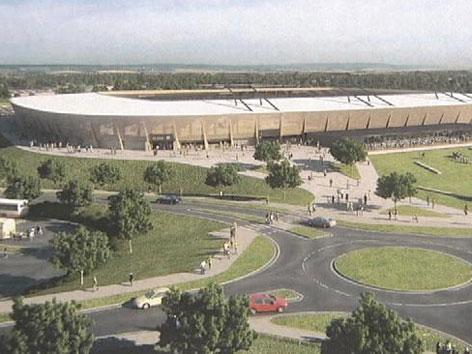 Stadion-Pläne Lustenau