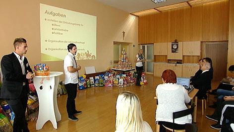 Schüler der Berufsschule Eisenstadt