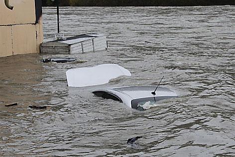 Lavamünd überflutet Überschwemmung