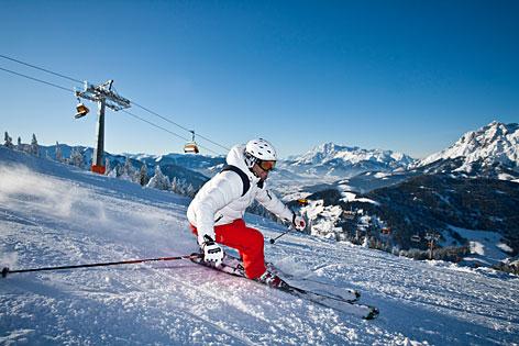 Skifahren Ski Urlaub Winter