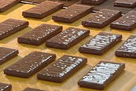 Zotter Schokoladentafeln