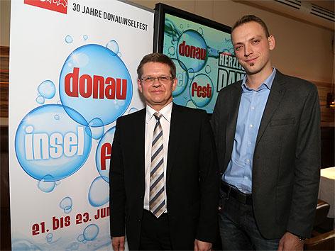 Christian Deutsch und Thomas Waldner