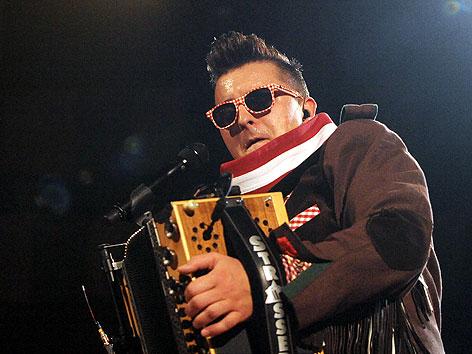 Andreas Gabalier bei Konzert in der Wiener Stadthalle im Mai 2012