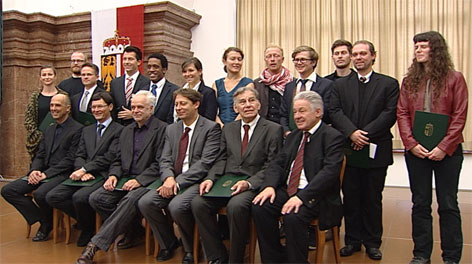 Die Landeskulturpreisträger 2012